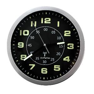 Horloge phosphorescente radio-pilotée