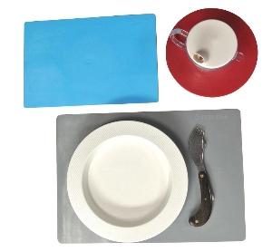 Set de repas antidérapant Ergo Plus spécial lave-vaisselle