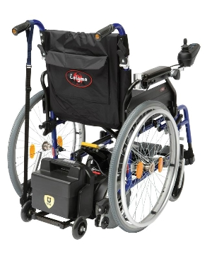 Motorisation de fauteuil roulant manuel Powerstroll U Drive