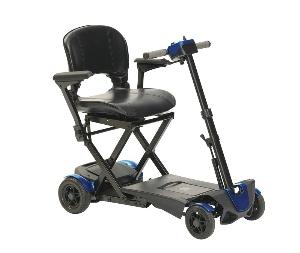 Scooter pliant automatique 4 roues