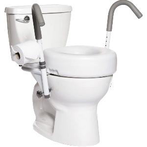 Accoudoirs suspendus pour toilettes Malte