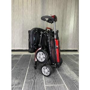 Scooter pliant automatique avec 4 roues