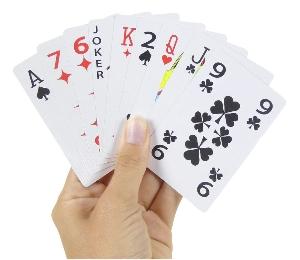 Jeu de 54 cartes Optic