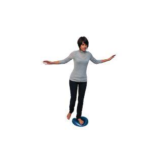 Assiette d'équilibre gonflable Reflexo