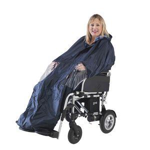 Cape pour fauteuil électrique