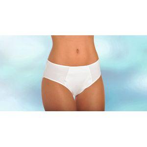 Culotte 2 côtés intraversables blanche