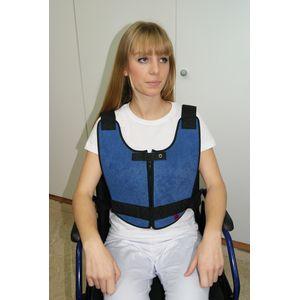 Gilet abdominal Confort Plus pour fauteuil roulant