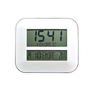 Horloge calendrier radio-pilotée Timeo