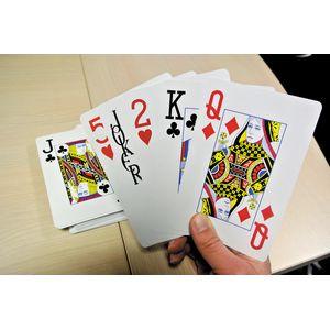 Jeu de 54 cartes géantes