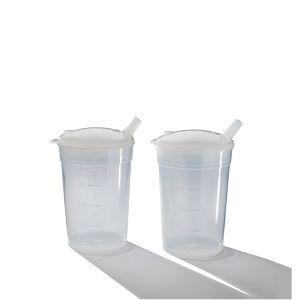 Lot de 2 verres plastiques Eco