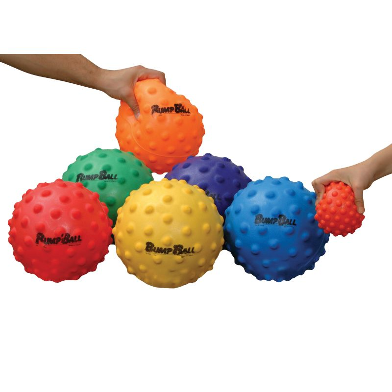 Lot de 6 ballons tactiles