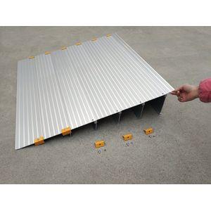 Plan incliné aluminium Modulaire