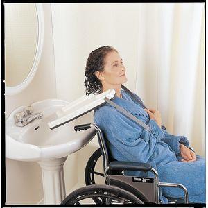 Plateau lave-tête pour fauteuil