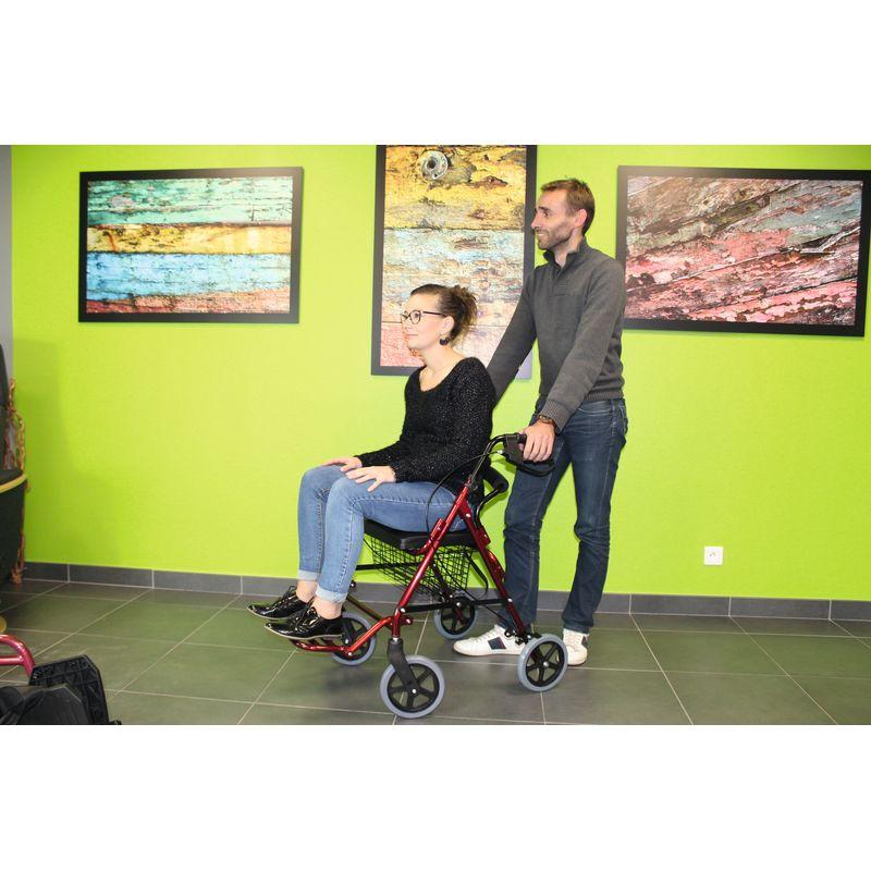 deambulateur fauteuil de transfert
