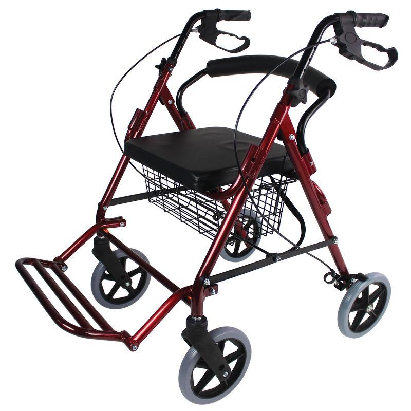 deambulateur fauteuil de transfert 2 en 1