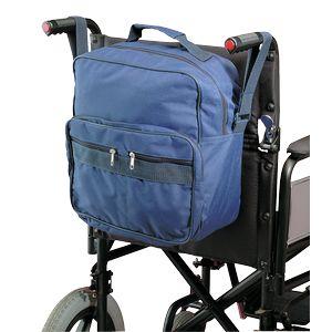 Sac adaptable sur fauteuil