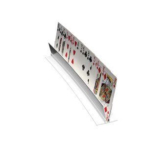 Support de cartes incurvé